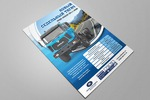 Рекламный плакат А2 для презентации нового тягача