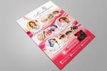 Реклама салона красоты для журнала А5 формата