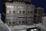 webGL улица