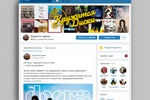 Оформление группы Вконтакте (КружатсяДиски)
