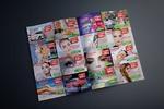 """Разворот рекламного журнала А5 формата """"Akenoobook"""""""