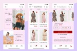 дизайн  моб. приложения интернет магазина