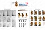 Персонажи для блога PubL'IT #deo976