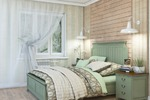 Спальня в натуральных оттенках 1