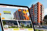 Сайт-визитка строительной компании «Scandinavia», 2017