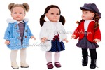 фотосъёмка испанских кукол Paola Reina