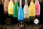 Материалы всех мастей для рекламной компании шампанского MAVAM