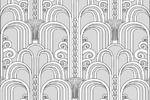 Ручная отрисовка орнамента в векторе, создание паттерна