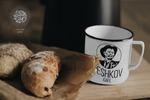 """лого для кофейни """"PESHKOV"""""""