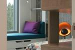 Дизайн интерьера жилого дома в Андорре. Детская.