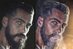 Художественная обработка мужского портрета