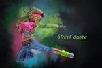 Street dance (картина на стену танцевальной студии)