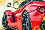 Ferrari (рисунок для принта)