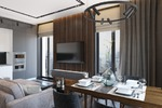 Дизайн кухни-гостиной в квартире со свободной планировкой