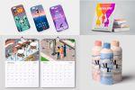 упаковки, календари, открытки, книги