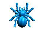 Твердотельная модель паука для литья в пресс-форме