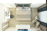 Спальня в 2х комнатной квартире