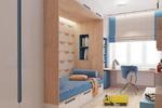 Дизайн-проект квартиры в Москве. Детская.