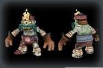 3d модель зомби со свечкой