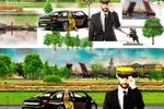 Шапка на сайт такси СПБ