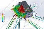 CFD-моделирование воздухораспределителя