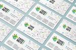 дизайн визитки для типографии