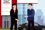 Видеоролик для компании Toyota