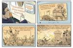Комикс для финансового журнала