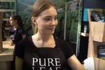 Съемка отчетного ролика для бренда Pure Leaf