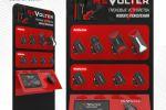 Визуализация стойки для продаж зарядных устройств