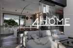 Проект коттеджа 272 м2 (интерьер 1-го этажа) - гостиная