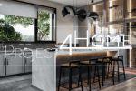 Проект коттеджа 272 м2 (интерьер 1-го этажа) - кухня