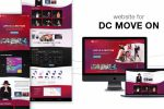 Сайт-визитка для DC Move On