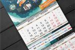 Иллюстрированный календарь