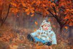 Осенний карапузик (художественная ретушь)