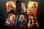 Герои фильмов в образе святых (арты)