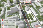 3д визуализация карты проезда к ТРЦ