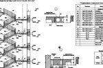 Схема расположения элементов лестниц