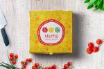 Дизайн коробки для пиццы «Квикфуд»