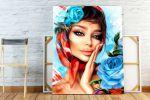 Девушка с розами (Artsoul)
