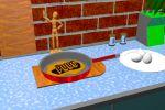Кухонная утверь работа в Cinema 4D