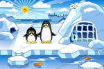 игровая локация с пингвинами
