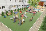 Детская площадка-Пансионат в Анапе