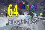 Цветной снег