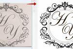 преобразую картинку из растрового в векторный формат