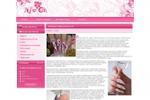 Объемный гелевый дизайн ногтей
