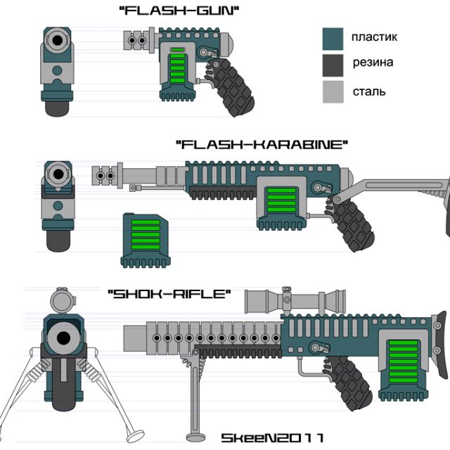 скетч вооружения
