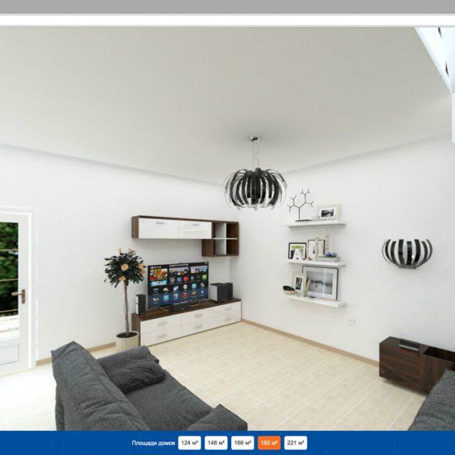 3D-визуализации загородных домов