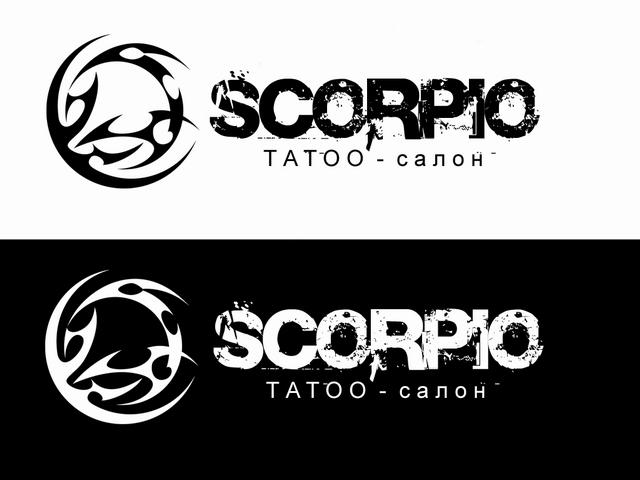 """Логотип Тату-салона """"Scorpio"""" - 1"""
