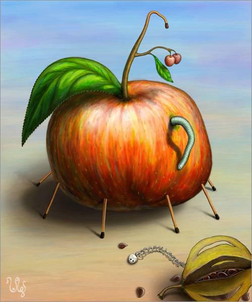 """""""Адамово яблоко и змей искуситель"""""""